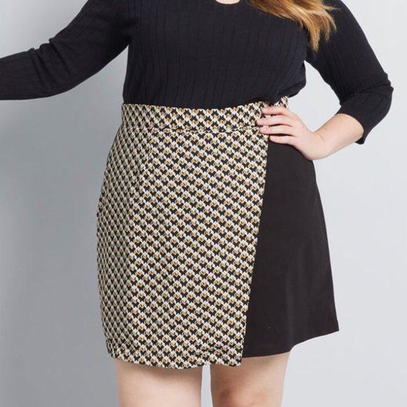 Modcloth mini skirts Modcloth Skirts Modcloth Playful Proportions Mini Skirt Poshmark